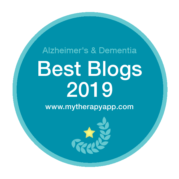 MyTherapy -Top 10 Alzheimer's & Dementia Blog Badge 2019